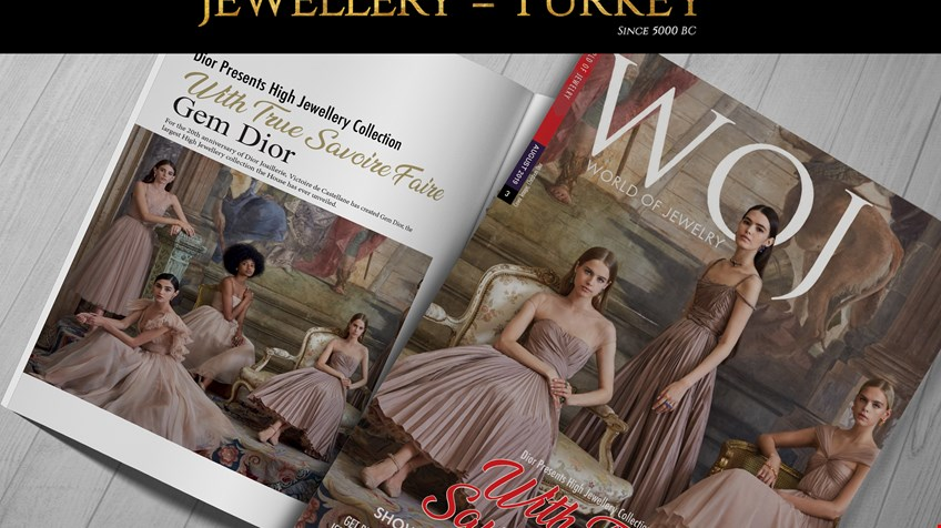August Issue of World of Jewelry Has Been Released