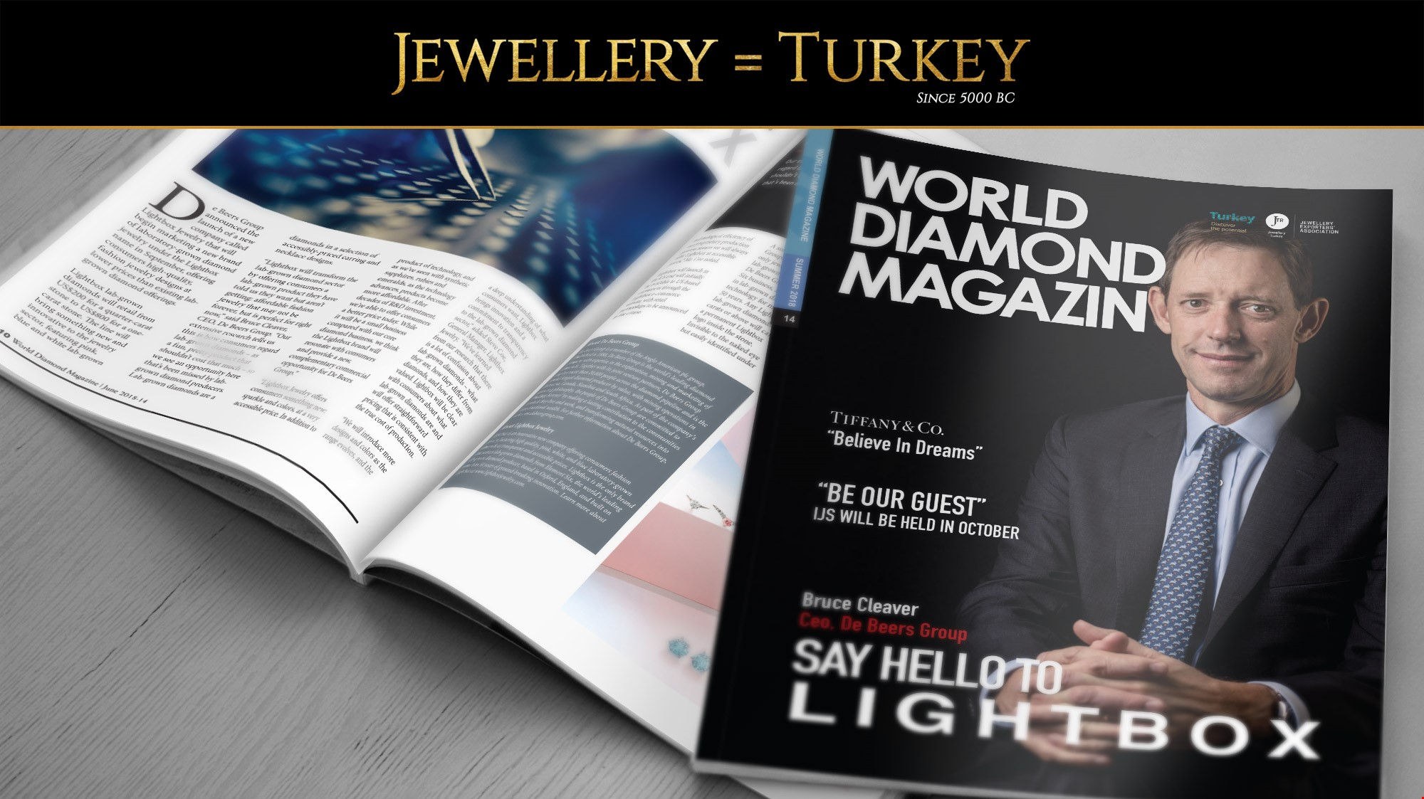 Summer Issue of World Diamond Magazine Has Been Released