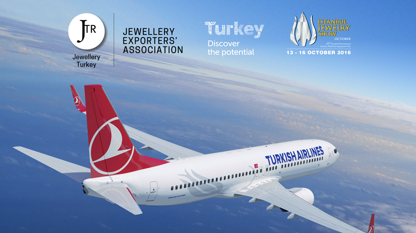 Fly to Istanbul Jewelry Show, get up to 20% discount!